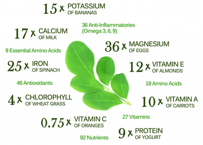 Moringa-Nutrients